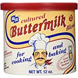 Saco Powdered Buttermilk, 12-ounce Can ( Multi-Pack)