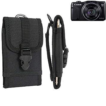 K-S-Trade® Bolsa del Cinturón/Funda para Canon PowerShot ...