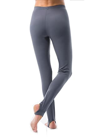4fa34d2258472 VIVILISH WOMEN SOLID STIRRUP LEGGING - Designed in Los Angeles,Grey,X-Small