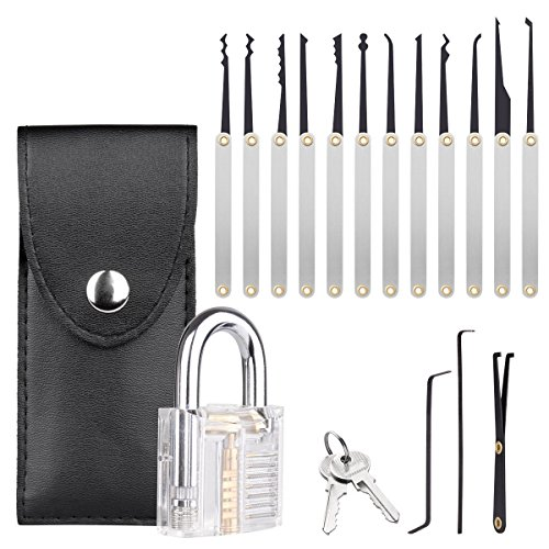 Professional practice Tools 15 Piece Multi-Tool Set and Training Kit for Beginners and Professionals by Blinyang