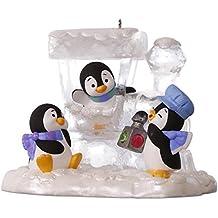 Hallmark Keepsake 2017 Penguin Express Christmas Ornament
