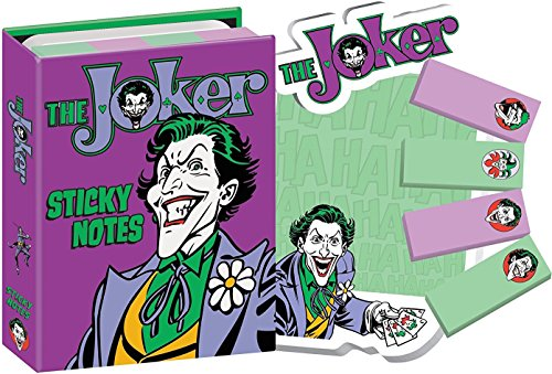 DC Comics Batman's The Joker Sticky Notes Booklet -