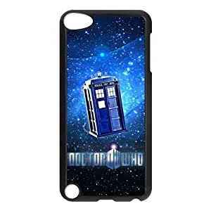 Customize Doctor Who Police Box Back For Case Ipod Touch 5 Cover JNIPOD5-1300