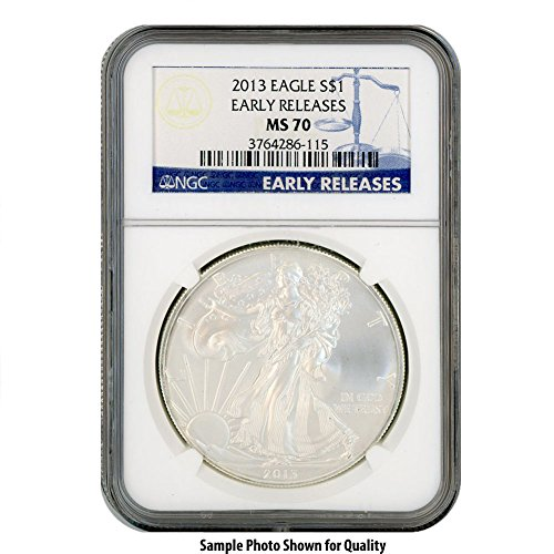 2013 American Silver Eagle $1 MS70 NGC Early Releases