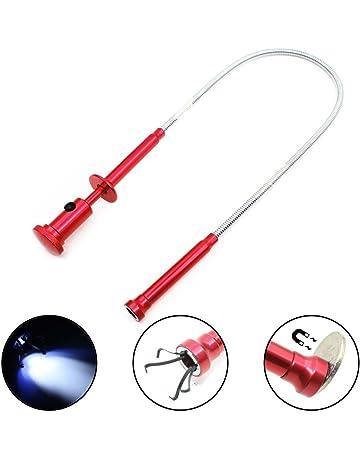 1 x magnétique pliable Picker Aimant Flexible Arbre Pick Up Rod Bâton Outil à main