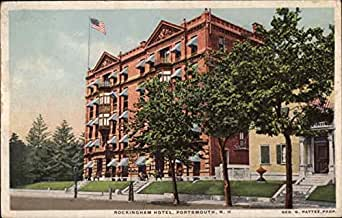 rockingham hotel portsmouth new hampshire original vintage postcard entertainment. Black Bedroom Furniture Sets. Home Design Ideas