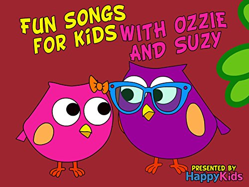 Fun Songs for Kids with Ozzie and Suzy on Amazon Prime Video UK