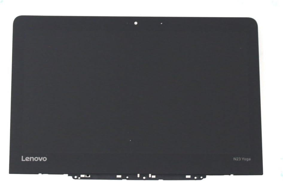 "simda- 11.6"" HD LCD Touch Screen Assembly+Bezel for Lenovo Chromebook Yoga N23 5D68C09575"