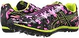 ASICS Women's Freak 2 Cross-Country Running Shoe, Hot Pink/Black/Neon Lime, 5 M US