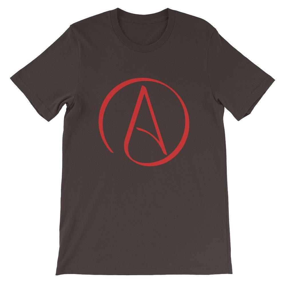 Atheist Tshirt Atheist Symbol White