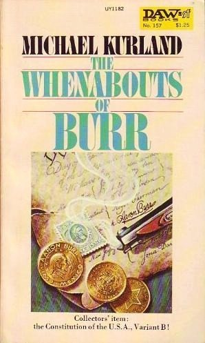 book cover of The Whenabouts of Burr