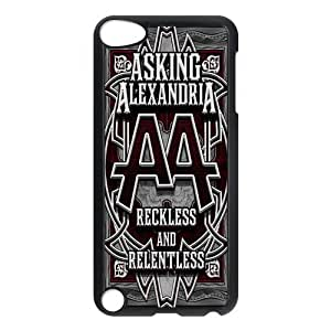 Asking Alexandria, Black / White Design Plastic Snap On For Case Iphone 6Plus 5.5inch Cover