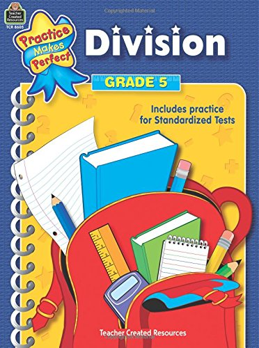 Download Division Grade 5 (practice makes perfect) pdf epub