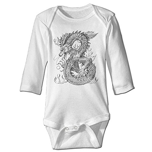 Funny Vintage Unisex Chinese Style Dragon Baby Costume Trottie