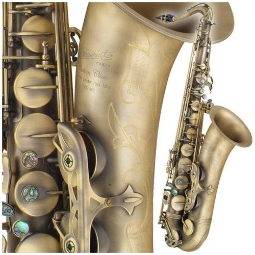 P. Mauriat PMXT-66RDK Tenor Sax, Dark, Rolled Tone Hole with Case by P. Mauriat