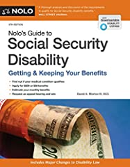 Qualify for Social Security disability benefits, quickly and easily   This comprehensive and compassionate book covers both SSDI and SSI, shows you how to prove a disability, and explains how your age, education, and work experience affect your chanc...