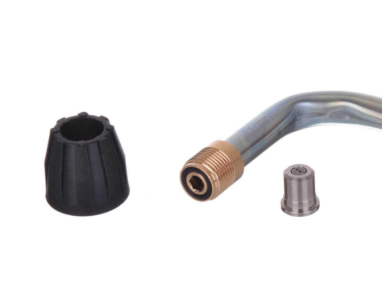Unterbodenlanze Winkelstrahlrohr D/üse f/ür Hochdruckreiniger M22 AG