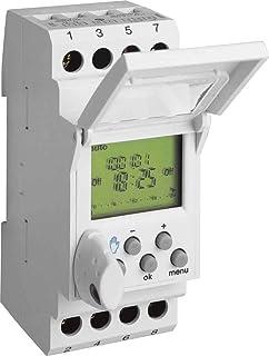 Hager EG103 Gris Weekly timer contador eléctrico - Temporizador (Weekly timer, Gris, Digital