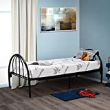 "Customize Bed Inc Fortnight Bedding 30""x74"" 6-Inch Gel Memory Foam Mattress for RV, Camping, Cot, Daybed & Guest Bed"