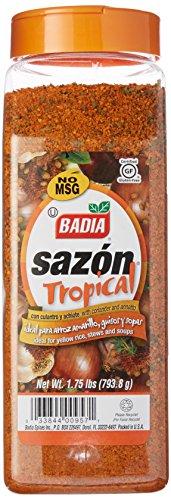 Badia Sazón Tropical with Annatto & Coriander 1.75 lbs ()