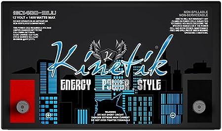 NEW Kinetik BLU 1400W 12V Power Cell HC1400BLU
