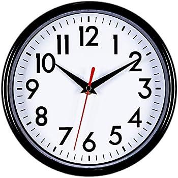 4af869606b8 Bernhard Products - Black Wall Clock 8