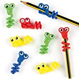 Baker Ross Monster Pencil Toppers (Pack of 8) For Kids Party Bag Fillers