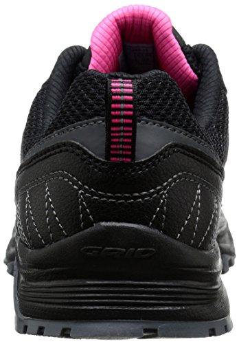 Saucony Excursión TR9Camiseta Térmica de Trail Running Shoe negro/rosa