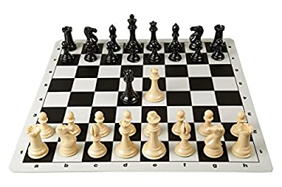 Quadruple Weight Tournament Chess Game Pieces - Chess Board Game Staunton Natural Chess Pieces
