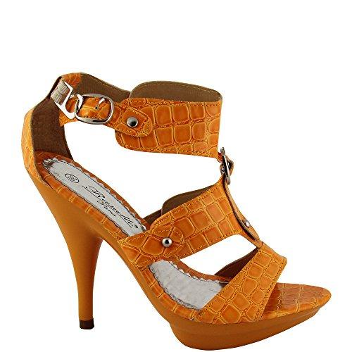 Rasalle Paris - Plataforma Mujer Naranja - naranja