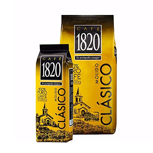 Cafe 1820 Costa Rican Ground Coffee and 1 Bag of 250g On Sale, 2.2 lb./1 - Costas Sale On