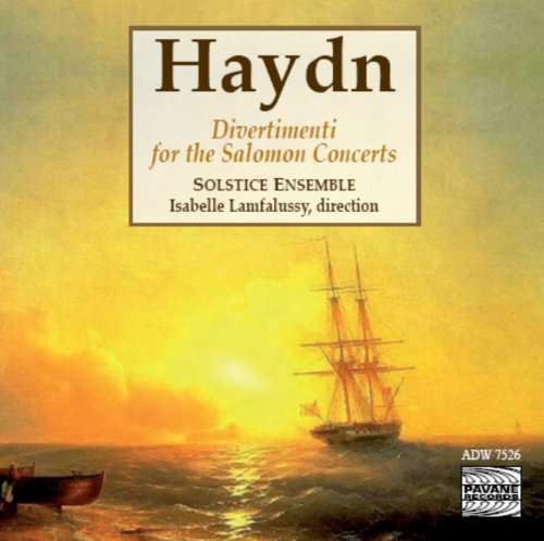 (Haydn: Divertimenti for the Salomon Concerts)