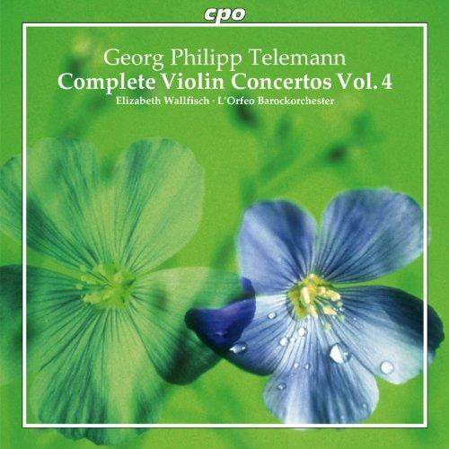 Telemann: Complete Violin Concertos Vol. 4 Complete Violin Concertos Cd