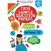 Oswaal CBSE Sample Question Papers Class 8 Maths (For March 2019 Exam)