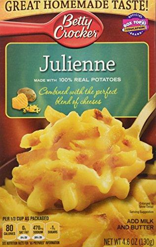 Betty Crocker, Julienne Potatoes, 4.6oz Box (Pack of ()