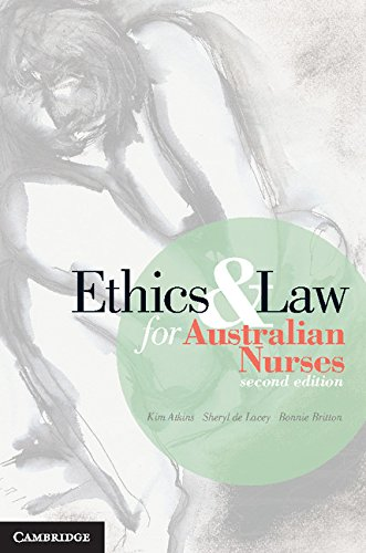 Ethics and Law for Australian Nurses Pdf