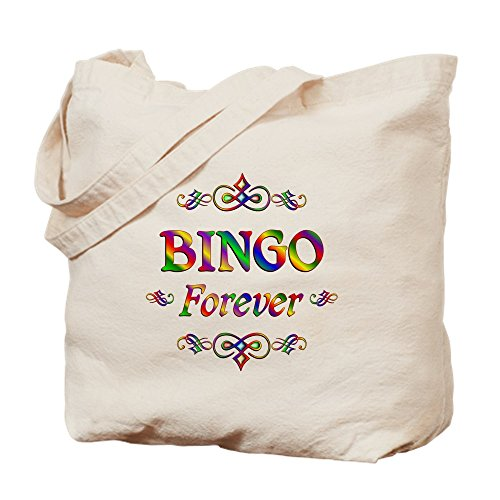 CafePress - Bingo Forever - Natural Canvas Tote Bag, Cloth Shopping Bag by CafePress