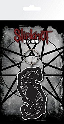 Slipknot Keychain Keyring For Fans - Goat (6 x 3 inches) (Slipknot Chris)
