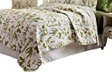 C&F Home Anessa Quilt, Full/Queen, Green