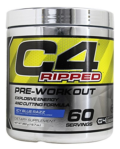 Cellucor Ripped PreWorkout Blue Servings product image