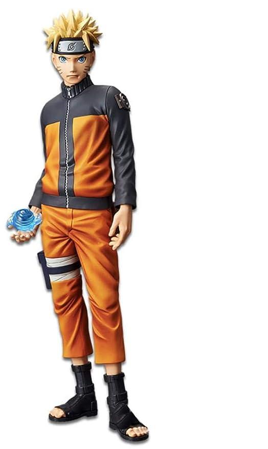 Bandai- Grandista Shinobi Relations Estatua Uzumaki Naruto, Multicolor (Banpresto 82420)