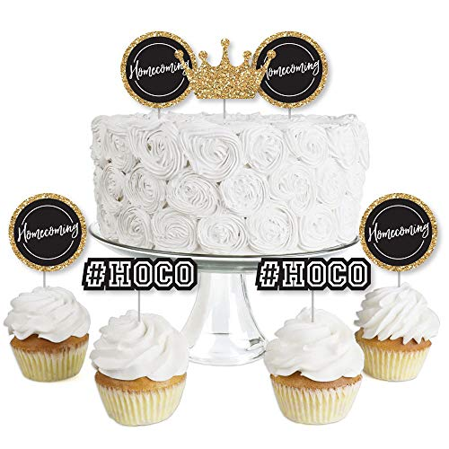 HOCO Dance - Dessert Cupcake Toppers - Homecoming