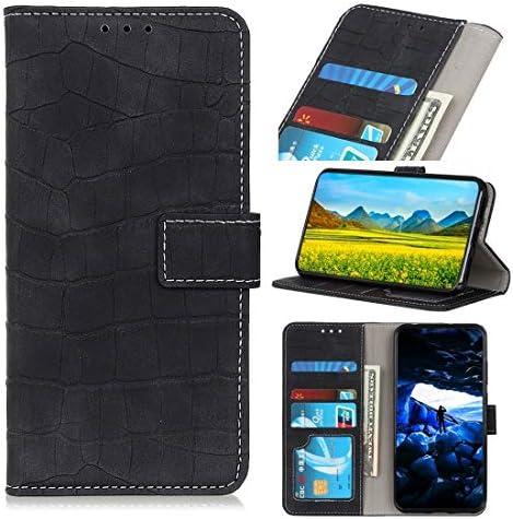 あなたの携帯電話を保護する Galaxy S10 Plus用クロコダイルテクスチャ水平フリップレザーケース、ホルダー&ウォレット