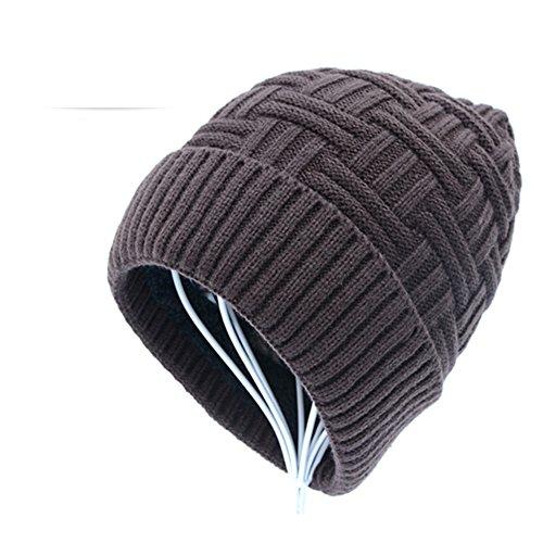 moda caps felpa gorras Gorras de A punto espesados lana 7vE7Yqw0