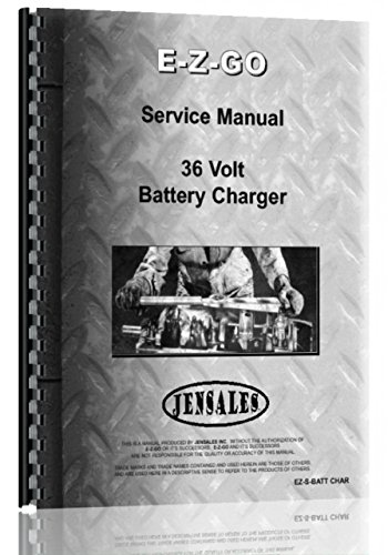 Price comparison product image Ez Go 36V Battery Charger Service Manual