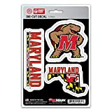 NCAA Maryland Terrapins Team Decal, 3-Pack