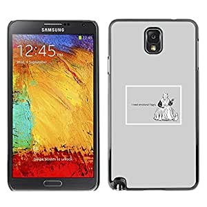 Plastic Shell Protective Case Cover || Samsung Galaxy Note 3 N9000 || Emotions Viagra Funny Quote Life Motivational @XPTECH