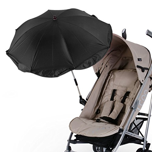 diago uk anti uv parasol black my baby buggy. Black Bedroom Furniture Sets. Home Design Ideas