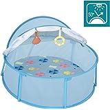 Babymoov A035215 babymoov babyni strandtält & resebatt, LSF 50+, blå