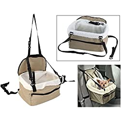 Pet Seat Booster Car Small Dog Cat Cover Protector Seater Travel Carrier Bag